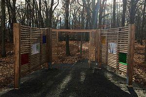 Rutgers Ecological Preserve - Gateway Kiosk