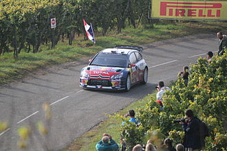 Rallye de France Alsace - Sébastien Loeb at the 2010 event