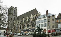 Sézanne, église Saint-Denis, façade sud.jpg