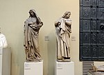 S. John by Naumburg master (Naumburg Peter and Paul cathedral; casting in Pushkin museum) by shakko 02.jpg