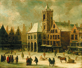 The Old City Hall of Amsterdam