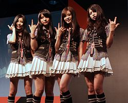 SCANDAL band at AFA-X 2010 Singapore.jpg