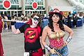 SDCC 2014 - Harley Quinn & Western Wonder Woman (14797848092).jpg