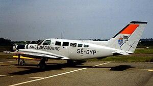 Cessna 402 - Image: SE GYP C402 1487