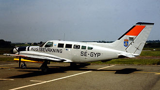 Cessna 402 - A Cessna 402C of the Swedish Coast Guard in 1981