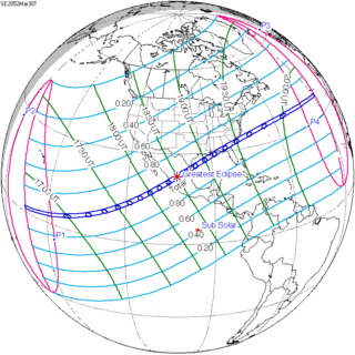Solar eclipse of March 30, 2052
