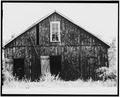 SECND BARN, EAST SIDE - Mabel Doss Day Lea House, Second Barn, Voss, Coleman County, TX HABS TEX,42-VOS.V,8G-2.tif