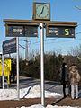 SKM train station Gdańsk Przymorze-Uniwersytet - displays.JPG
