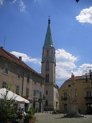 Roman Catholic Diocese of Celje - Celje Cathedral, dedicated to Saint Daniel