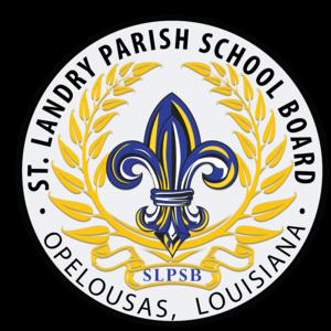 St. Landry Parish School Board - Image: SLPSB Fleur Logo 9