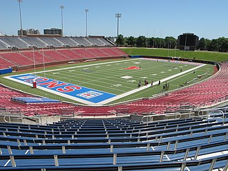 Gerald J. Ford Stadium - Image: SMU's Ford Stadium, Wide Shot