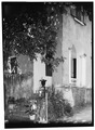 SOUTHEAST FRONT, SOUTHEAST END OF GALLERY, STEPS - Bjerget, 56-58 Hill Street, Christiansted, St. Croix, VI HABS VI,1-CHRIS,11-2.tif