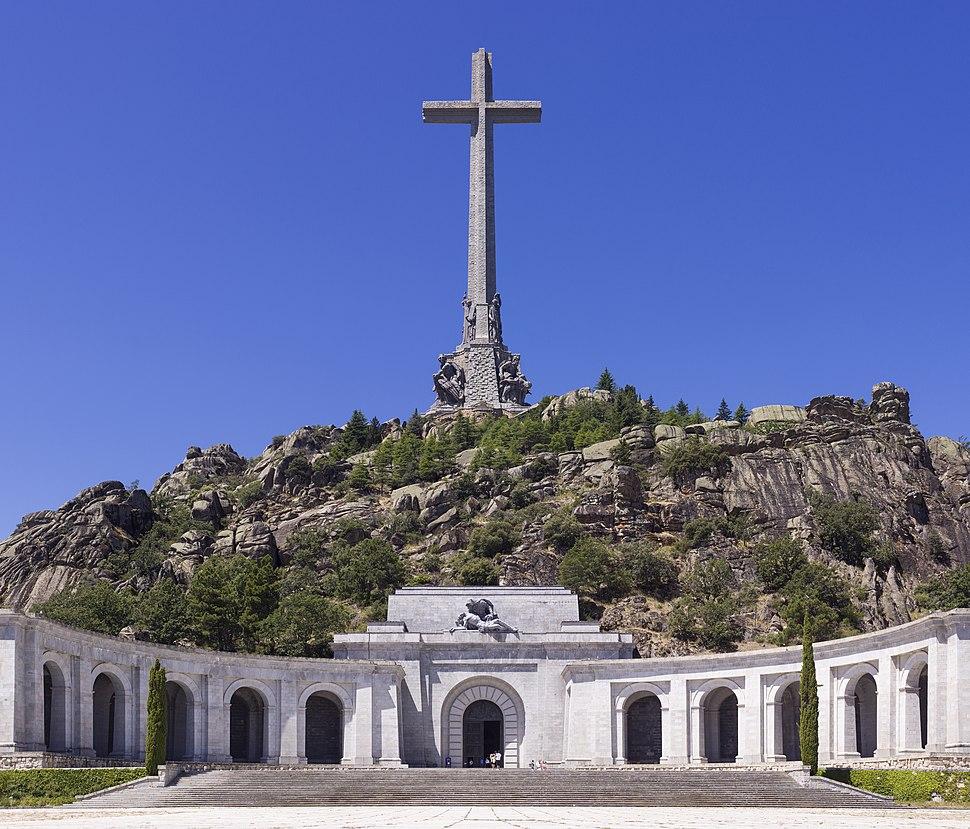 SPA-2014-San Lorenzo de El Escorial-Valley of the Fallen (Valle de los Caídos)