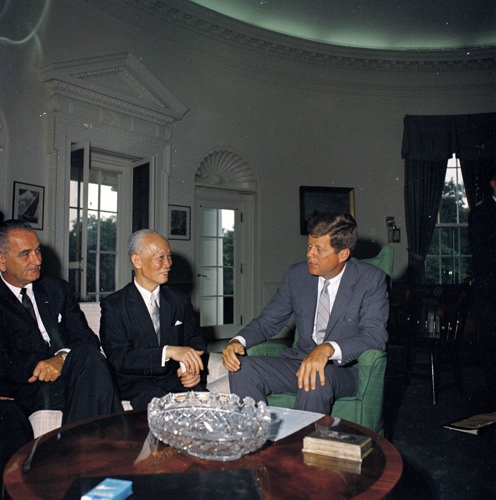 ST-M1-1-61. Meeting with Chen Cheng, Vice President of the Republic of China