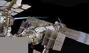 STS-128 Composite view of the Russian Segment of the ISS