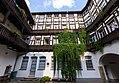 "Saalfeld-Saale Brudergasse 9 Ehem. Handelshaus Bestandteil Denkmalensemble ""Stadtkern Saalfeld-Saale"" Innenhof 10.jpg"