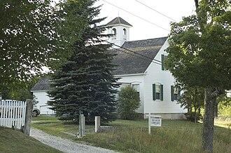 Sabbathday Lake Shaker Village - Shaker Library and schoolhouse