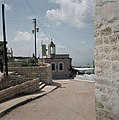 Safad. Kunstenaarskolonie straatje met zicht op het altelier van Sionah Tagger , Bestanddeelnr 255-9269.jpg
