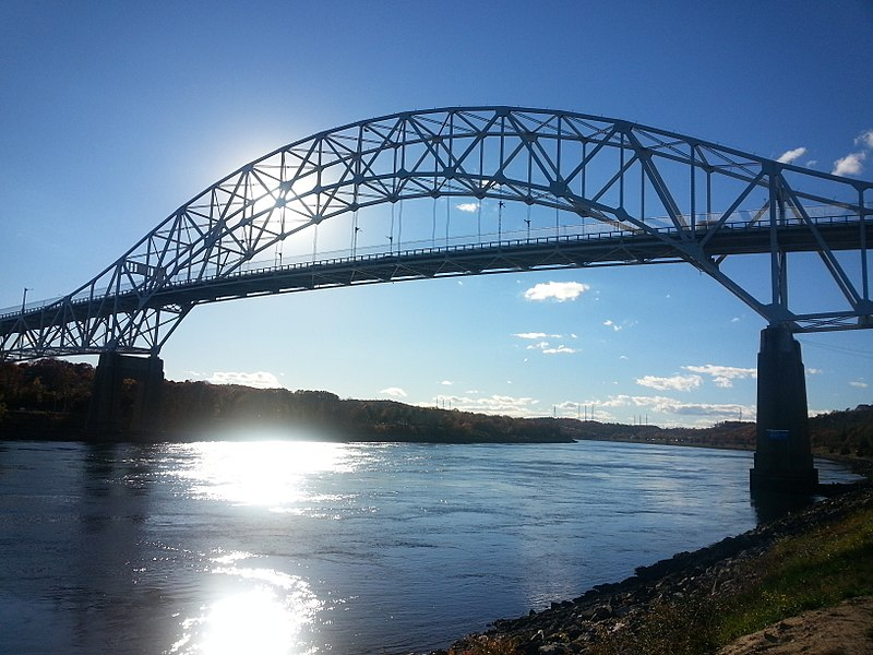 File:Sagamore Bridge - South Westerly View.jpg