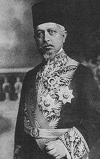 Said Halim Pasha Ottoman grand vizier