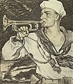 Sailor with bugle in 1917 - Poster, Enlist in the Navy, 1917 (CH 18505037-2) (cropped).jpg