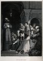 Saint Francis of Assisi. Line engraving by Forster after C.A Wellcome V0033454.jpg