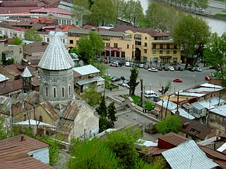 Saint Gevorg Armenian Church, Old Tbilisi 001.jpg
