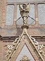Saint Ladislaus Church, angel with cross, 2016 Budapest.jpg