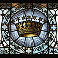 Saint Mary Catholic Church (Dayton, Ohio) - stained glass, crown.JPG