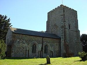 Bawdsey - Image: Saint Marys Church Bawdsey
