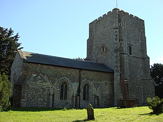 Bawdsey - Image: Saint Marys Church Bawdsey