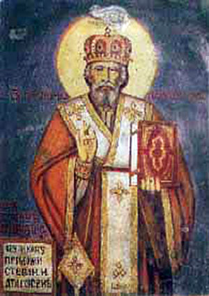 Petar I Petrović-Njegoš - Orthodox icon of Petar as a saint.