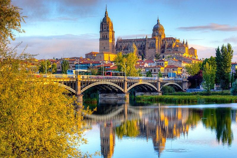 File:Salamanca Cathedral - after sunrise.jpg
