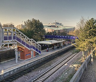 Salford Crescent railway station English railway station