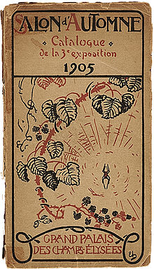 Salon Du0027Automne, 1905, Catalogue Cover. Fauvism Was Launched At This  Exhibition