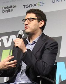 Description de l'image Sam Esmail at SXSW 2016.jpg.