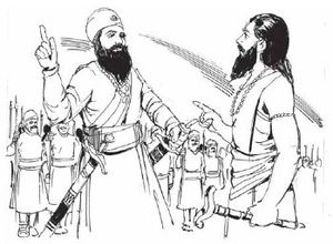 Samarth Ramdas - Guru Hargobindji and Samarth Ramdas
