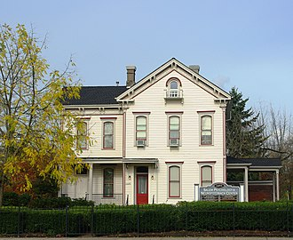 National Register of Historic Places listings in Marion County, Oregon - Image: Samuel Adolph House front Salem, Oregon