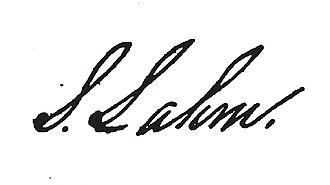 Samuel Lahm - Image: Samuel Lahm signature