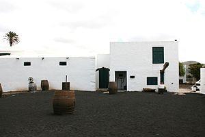 San Bartolomé, Las Palmas - El Grifo wine cellar in San Bartolomé, Lanzarote.