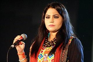 Sanam Marvi Pakistani Folk and sufi singer