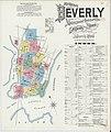 Sanborn Fire Insurance Map from Beverly, Essex County, Massachusetts. LOC sanborn03691 003-1.jpg
