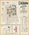 Sanborn Fire Insurance Map from Chickasha, Grady County, Oklahoma. LOC sanborn07038 007-1.jpg