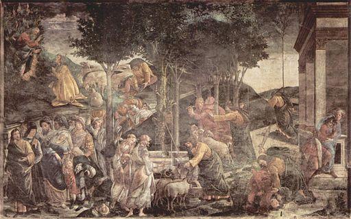Sandro Botticelli - Moses life