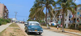 Santa Cruz del Norte - Street in Santa Cruz del Norte