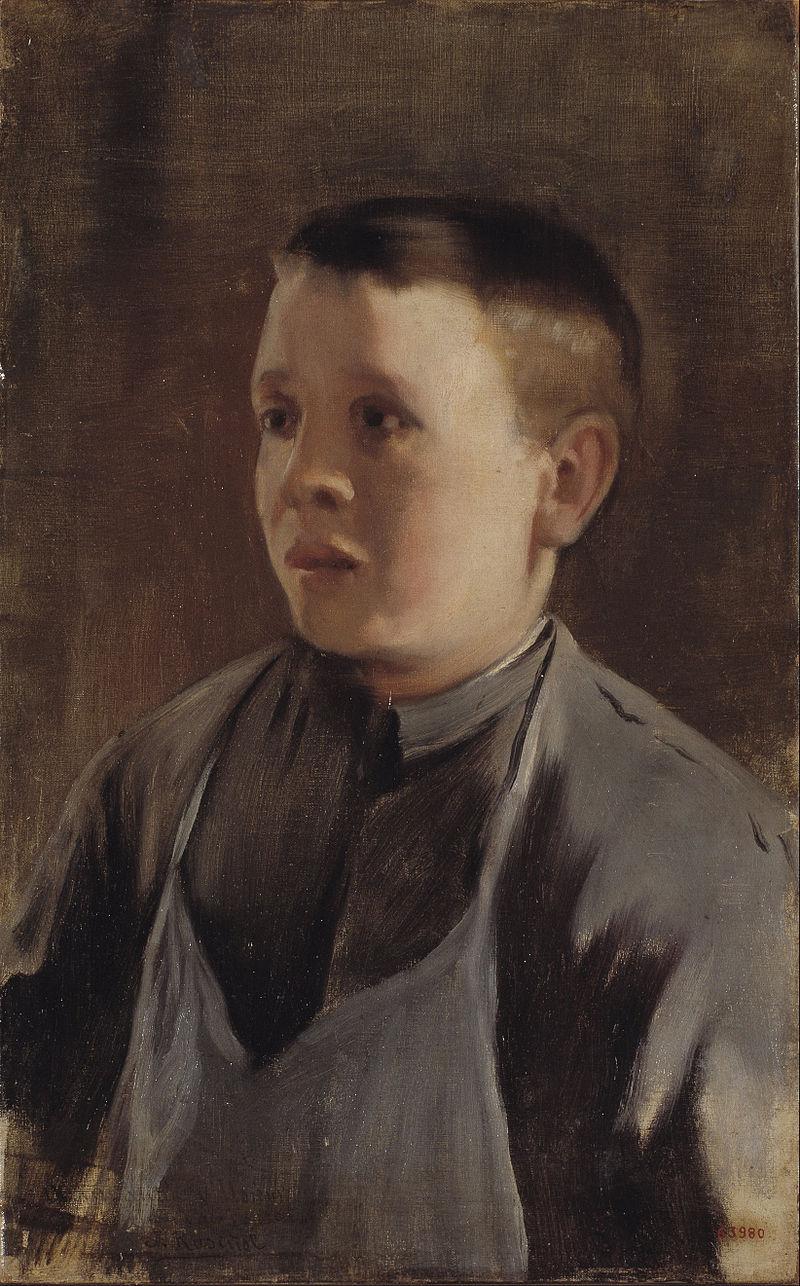 Santiago Rusiñol - Портрет мальчика - Google Art Project.jpg