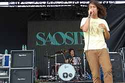 Saosin auf der Projekt Revolution Tour am 19. August 2007 im Nissan-Pavillon in Bristow, Virginia.