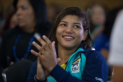 Sarah Menezes Homenagem Min Esporte