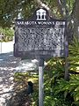 Sarasota FL Downtown HD Womans Club marker01.jpg