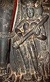 Saraswati with eka-tantri vina, Close up from Vishni, Lakshmi and Sarasvati carvings, National Gallery of Victoria.jpg